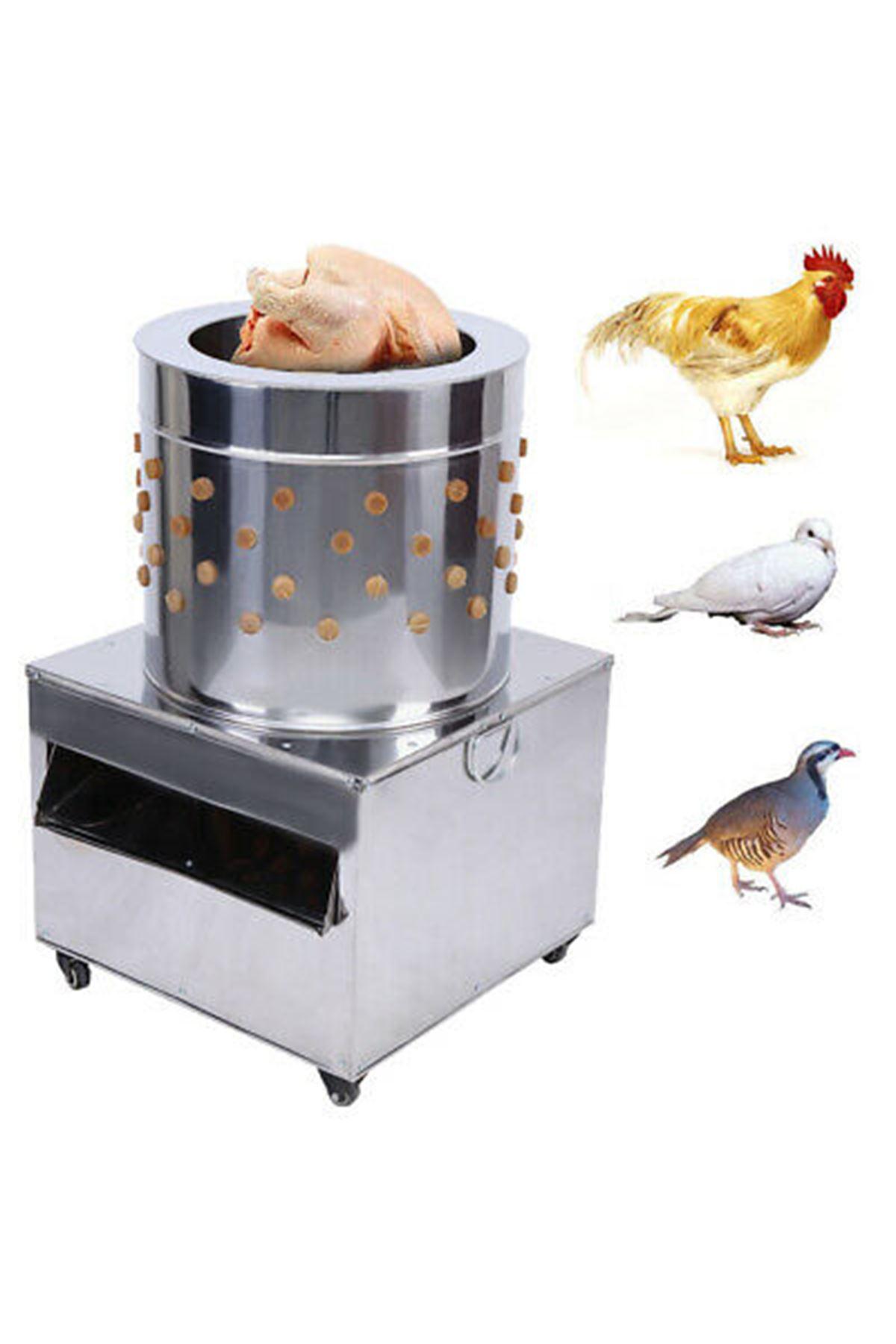 Tüy Yolma Makinesi (7-8 Tavuk Kapasiteli)